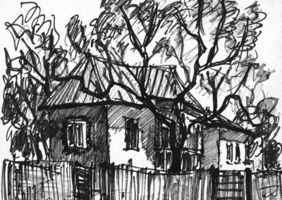 Sterianu de Sus - casa vecinului