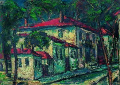 Str. Constantin Caracas, up 36x48 cm