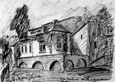 Casa Venetiana din Braila, unde s-au nascut stramosii mei. In prezent, deteriorata