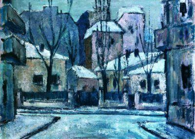 Str. Virgiliu iarna, uc 50x61 cm