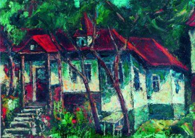 Casa lui Mircea Deac de la Valenii de Munte