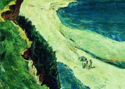 Pe mal la Caliacra, upc 61x50 cm