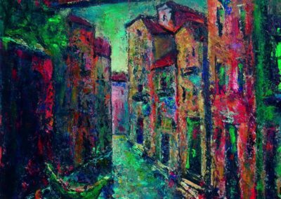 Venetia - Rio Abrizi, up 61x50 cm