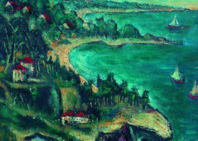 Coasta de Argint, up 61x50 cm