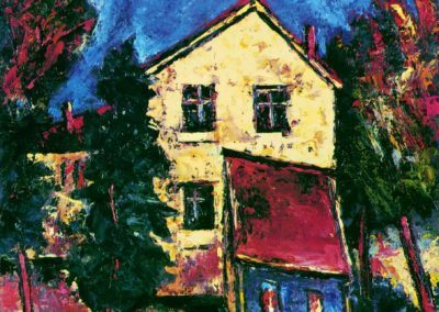 Toamna - Str. Unirii, Braila, uc 61x50 cm