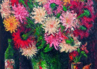 Crizantemele de la Sterianu, uc 61x50 cm
