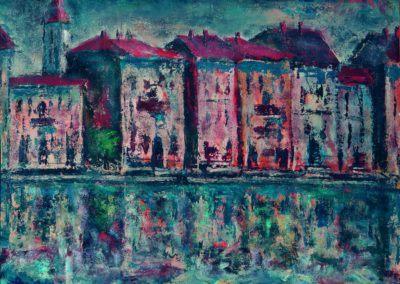 Venetia, Canal Grande, uc 36x48 cm