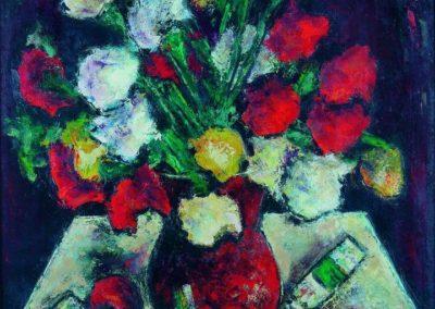 Flori si tuburi, uc 48x36 cm
