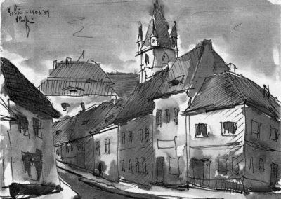 Peisaj din Sibiu