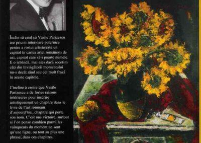 """Coperta IV Album """"Viata ca o pasiune"""" Vol. 3"""