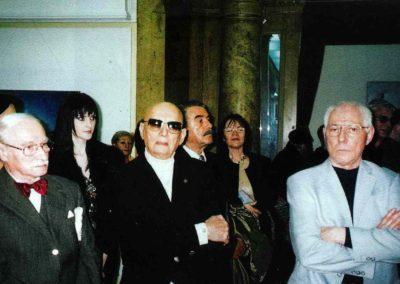Vernisajul expozitiei Vasile Parizescu, 2005 Galeriile Artelor.
