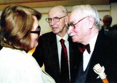 Vernisajul expozitiei Vasile Parizescu, 2010. cu familia Livia si Mircea Deac