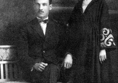 Parintii Catina si Iancu Th. Parisescu