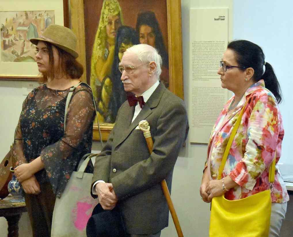 Gral Vasile Parizescu, Presedintele SCAR la Muzeul Colectiilor de Arta in 21 sept. 2018