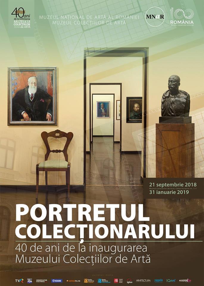Muzeul Colecțiilor de ArtăVernisaj: Portretul Colecționarului 21.09.2018